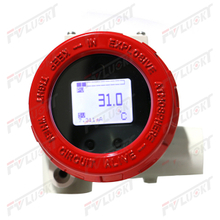 Display type - temperature transmitter