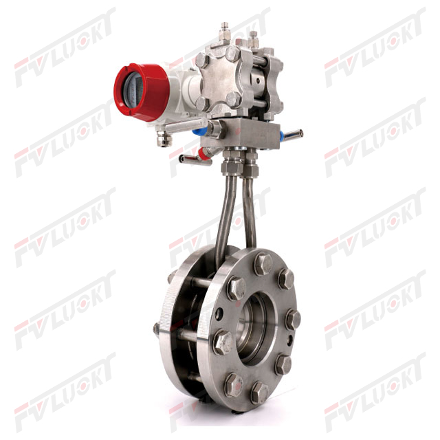 Integrated orifice flowmeter