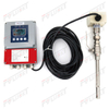 Thermal gas mass flow meter
